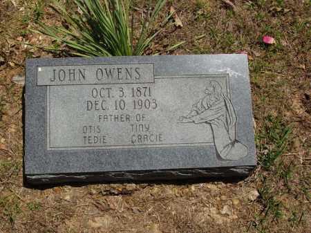 OWENS, JOHN - Izard County, Arkansas | JOHN OWENS - Arkansas Gravestone Photos
