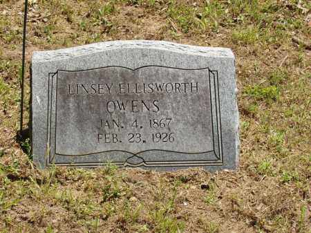 OWENS, LINSEY ELLISWORTH - Izard County, Arkansas | LINSEY ELLISWORTH OWENS - Arkansas Gravestone Photos