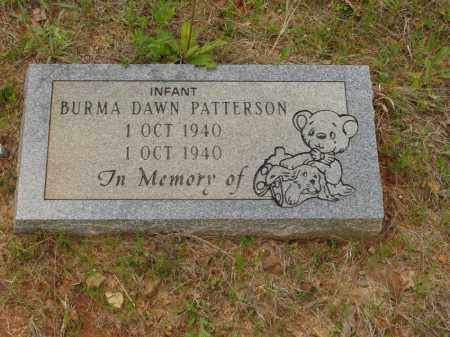 PATTERSON, BURMA DAWN - Izard County, Arkansas | BURMA DAWN PATTERSON - Arkansas Gravestone Photos