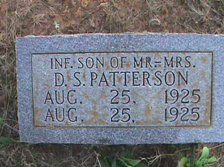 PATTERSON, INFANT SON - Izard County, Arkansas | INFANT SON PATTERSON - Arkansas Gravestone Photos