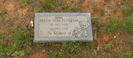 PATTERSON, TRESSIE FERN - Izard County, Arkansas | TRESSIE FERN PATTERSON - Arkansas Gravestone Photos