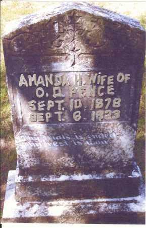 PENCE, AMANDA H. - Izard County, Arkansas | AMANDA H. PENCE - Arkansas Gravestone Photos