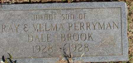 PERRYMAN, DALE BROOK - Izard County, Arkansas | DALE BROOK PERRYMAN - Arkansas Gravestone Photos