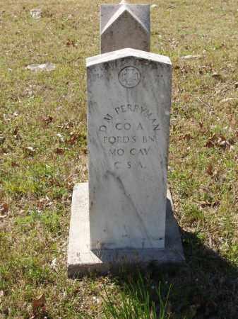 PERRYMAN (VETERAN CSA), DAVID M - Izard County, Arkansas | DAVID M PERRYMAN (VETERAN CSA) - Arkansas Gravestone Photos