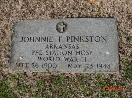PINKSTON  (VETERAN WWII), JOHNNIE T - Izard County, Arkansas | JOHNNIE T PINKSTON  (VETERAN WWII) - Arkansas Gravestone Photos