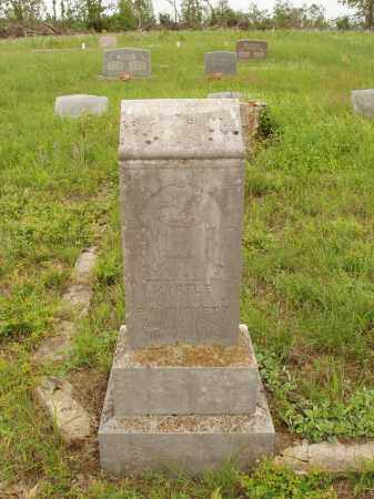 PUCKETT, MYRTLE - Izard County, Arkansas | MYRTLE PUCKETT - Arkansas Gravestone Photos