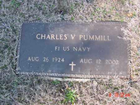 PUMMILL  (VETERAN), CHARLES V - Izard County, Arkansas | CHARLES V PUMMILL  (VETERAN) - Arkansas Gravestone Photos