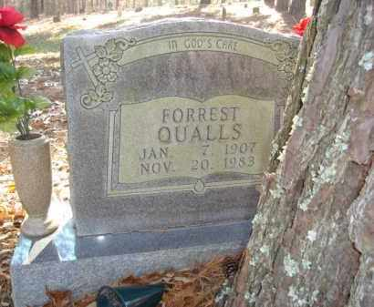 QUALLS, FORREST - Izard County, Arkansas | FORREST QUALLS - Arkansas Gravestone Photos