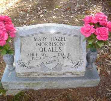 QUALLS, MARY HAZEL - Izard County, Arkansas | MARY HAZEL QUALLS - Arkansas Gravestone Photos