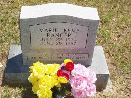 KEMP RANGER, MARIE - Izard County, Arkansas | MARIE KEMP RANGER - Arkansas Gravestone Photos