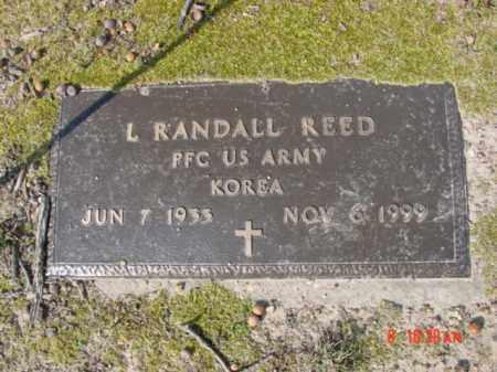 REED  (VETERAN KOR), L RANDALL - Izard County, Arkansas | L RANDALL REED  (VETERAN KOR) - Arkansas Gravestone Photos