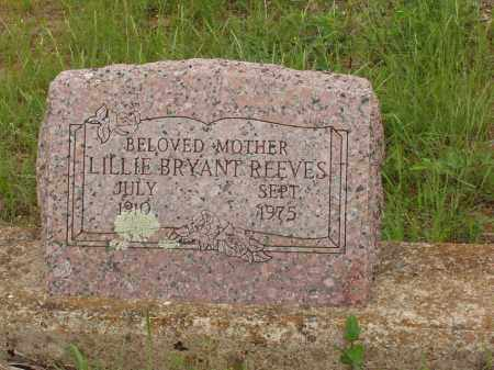 REEVES, LILLIE BRYANT - Izard County, Arkansas | LILLIE BRYANT REEVES - Arkansas Gravestone Photos