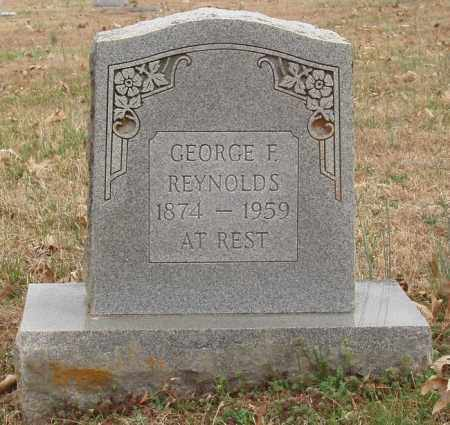 REYNOLDS, GEORGE F - Izard County, Arkansas | GEORGE F REYNOLDS - Arkansas Gravestone Photos