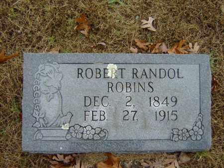 ROBINS, ROBERT RANDOL - Izard County, Arkansas | ROBERT RANDOL ROBINS - Arkansas Gravestone Photos