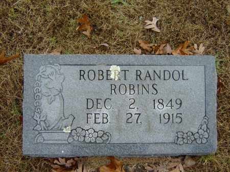 ROBINS, ROBERT RANDOL (OBIT) - Izard County, Arkansas | ROBERT RANDOL (OBIT) ROBINS - Arkansas Gravestone Photos