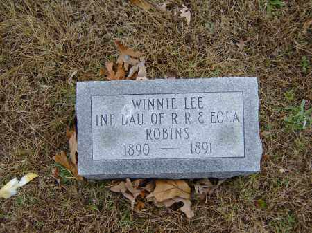 ROBINS, WINNIE LEE - Izard County, Arkansas | WINNIE LEE ROBINS - Arkansas Gravestone Photos