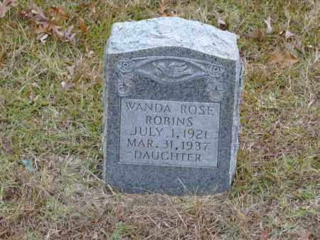 ROBINS, WANDA ROSE - Izard County, Arkansas | WANDA ROSE ROBINS - Arkansas Gravestone Photos