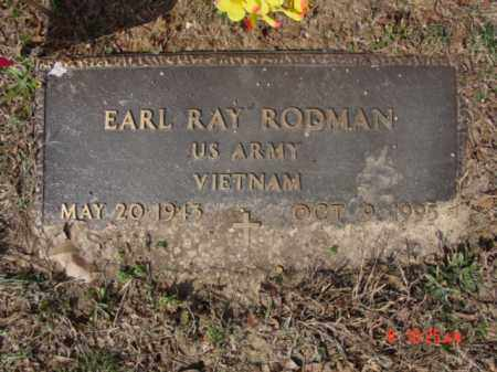 RODMAN  (VETERAN VIET), EARL RAY - Izard County, Arkansas | EARL RAY RODMAN  (VETERAN VIET) - Arkansas Gravestone Photos