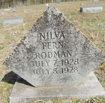 RODMAN, NILVA FERN - Izard County, Arkansas | NILVA FERN RODMAN - Arkansas Gravestone Photos