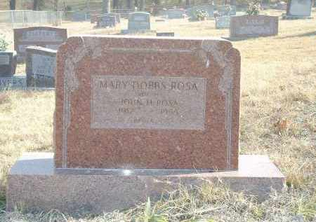 ROSA, MARY - Izard County, Arkansas | MARY ROSA - Arkansas Gravestone Photos