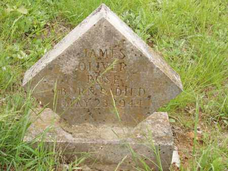 ROSE, JAMES OLIVER - Izard County, Arkansas | JAMES OLIVER ROSE - Arkansas Gravestone Photos