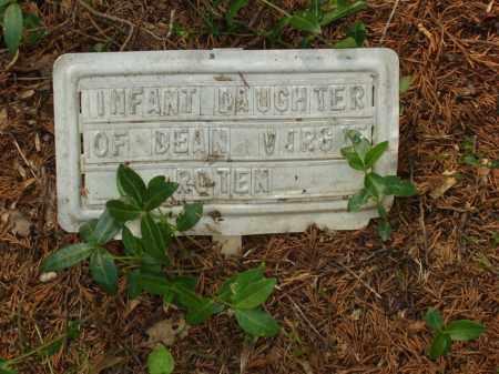 ROTEN, INFANT DAUGHTER - Izard County, Arkansas   INFANT DAUGHTER ROTEN - Arkansas Gravestone Photos