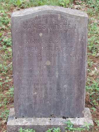 ROTEN, JAMES W - Izard County, Arkansas   JAMES W ROTEN - Arkansas Gravestone Photos