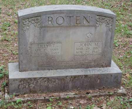 ROTEN, JOHN MARK - Izard County, Arkansas | JOHN MARK ROTEN - Arkansas Gravestone Photos