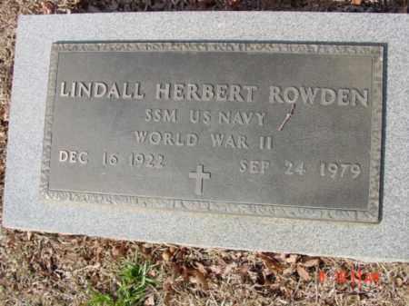 ROWDEN  (VETERAN WWII), LINDALL HERBERT 'BILL' - Izard County, Arkansas | LINDALL HERBERT 'BILL' ROWDEN  (VETERAN WWII) - Arkansas Gravestone Photos