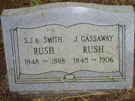 RUSH, JAMES GASSAWAY - Izard County, Arkansas | JAMES GASSAWAY RUSH - Arkansas Gravestone Photos