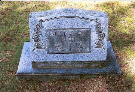 WEAVER SCOTT, NELLIE - Izard County, Arkansas | NELLIE WEAVER SCOTT - Arkansas Gravestone Photos