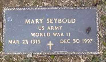 SEYBOLD, MARY - Izard County, Arkansas | MARY SEYBOLD - Arkansas Gravestone Photos
