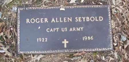 SEYBOLD (VETERAN), ROGER ALLEN - Izard County, Arkansas | ROGER ALLEN SEYBOLD (VETERAN) - Arkansas Gravestone Photos