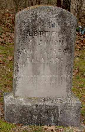 RAGAN SHANNON, LETTIE FINN - Izard County, Arkansas | LETTIE FINN RAGAN SHANNON - Arkansas Gravestone Photos