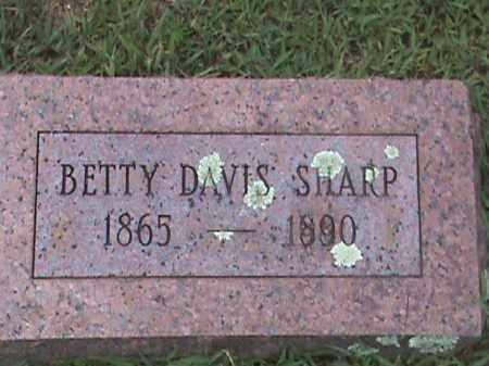 SHARP, BETTY - Izard County, Arkansas | BETTY SHARP - Arkansas Gravestone Photos