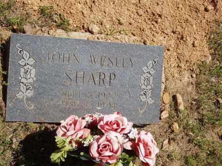 SHARP, JOHN WESLEY - Izard County, Arkansas | JOHN WESLEY SHARP - Arkansas Gravestone Photos
