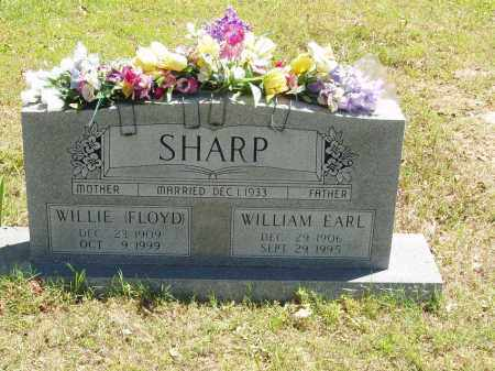 FLOYD SHARP, WILLIE - Izard County, Arkansas | WILLIE FLOYD SHARP - Arkansas Gravestone Photos