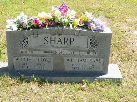 SHARP, WILLIAM EARL - Izard County, Arkansas | WILLIAM EARL SHARP - Arkansas Gravestone Photos