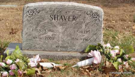 WARD SHAVER, ELLA NAOMI (OBIT) - Izard County, Arkansas | ELLA NAOMI (OBIT) WARD SHAVER - Arkansas Gravestone Photos