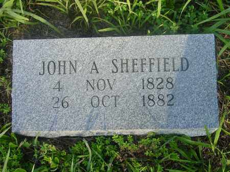 SHEFFIELD, JOHN A. - Izard County, Arkansas | JOHN A. SHEFFIELD - Arkansas Gravestone Photos