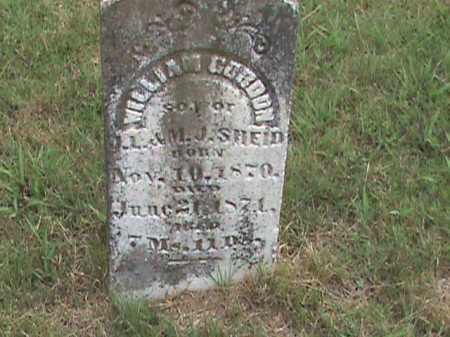 SHEID, WILLIAM GORDON - Izard County, Arkansas   WILLIAM GORDON SHEID - Arkansas Gravestone Photos
