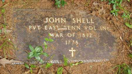 SHELL  (VETERAN 1812), JOHN - Izard County, Arkansas | JOHN SHELL  (VETERAN 1812) - Arkansas Gravestone Photos