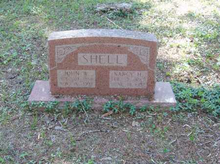 SHELL, NANCY H - Izard County, Arkansas | NANCY H SHELL - Arkansas Gravestone Photos