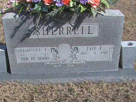 SHERRELL, ELDRIDGE T. - Izard County, Arkansas | ELDRIDGE T. SHERRELL - Arkansas Gravestone Photos