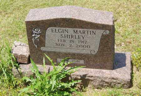SHIRLEY, ELGIN MARTIN - Izard County, Arkansas | ELGIN MARTIN SHIRLEY - Arkansas Gravestone Photos