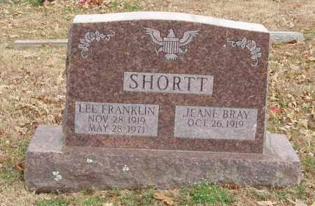 SHORTT, LEE FRANKLIN - Izard County, Arkansas | LEE FRANKLIN SHORTT - Arkansas Gravestone Photos