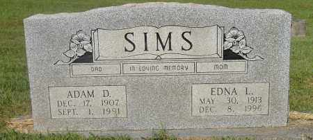 BOOKOUT SIMS, EDNA LORI - Izard County, Arkansas | EDNA LORI BOOKOUT SIMS - Arkansas Gravestone Photos
