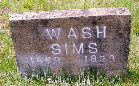 SIMS, GEORGE WASHINGTON - Izard County, Arkansas | GEORGE WASHINGTON SIMS - Arkansas Gravestone Photos