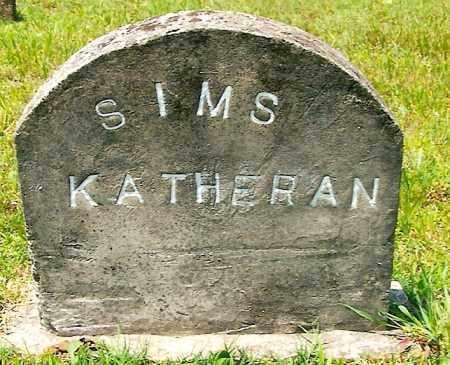 SIMS, KATHERAN - Izard County, Arkansas | KATHERAN SIMS - Arkansas Gravestone Photos