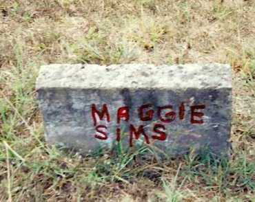 SIMS, MAGGIE - Izard County, Arkansas | MAGGIE SIMS - Arkansas Gravestone Photos